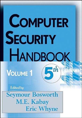 9780470327227: Computer Security Handbook, Vol. 1