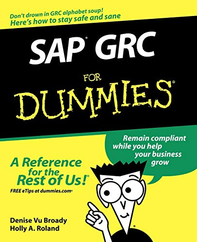 9780470333174: SAP GRC For Dummies