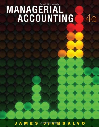 9780470333341: Managerial Accounting