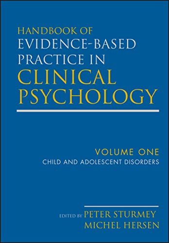 9780470335444: Handbook of Evidence-Based Practice in Clinical Psychology, Child and Adolescent Disorders