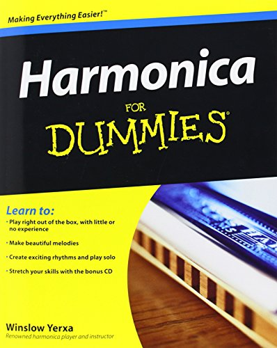 9780470337295: Harmonica For Dummies (Book And Cd)