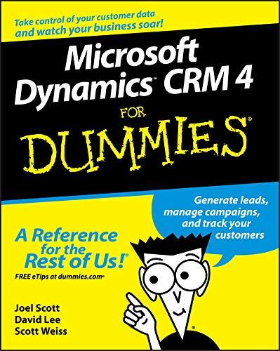 9780470343258: Microsoft Dynamics CRM 4 for Dummies