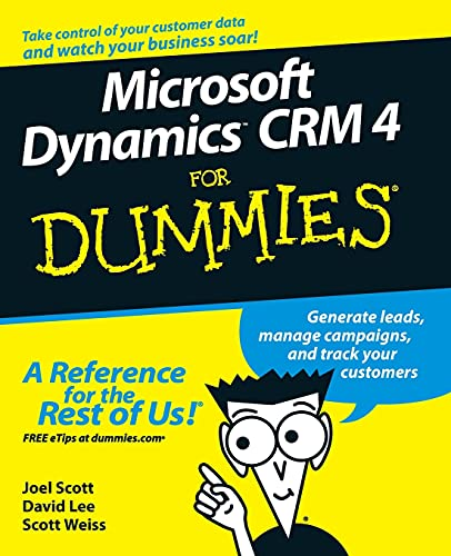 9780470343258: Microsoft Dynamics CRM 4 For Dummies