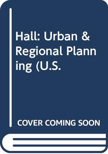 9780470343272: Hall: Urban & Regional Planning (U.S.