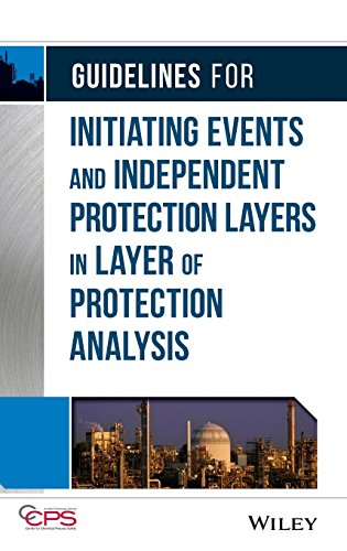 9780470343852: Guidelines for Initiating Events and Independent Protection Layers in Layer of Protection Analysis