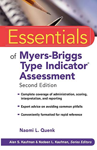 9780470343906: Essentials Myers-Briggs Type Indicator Assessment (Essentials of Psychological Assessment)