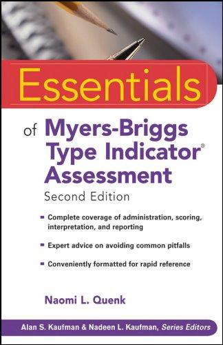 9780470343906: Essentials of Myers-Briggs Type Indicator Assessment