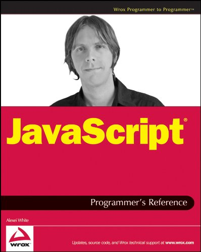 9780470344729: JavaScript Programmer's Reference