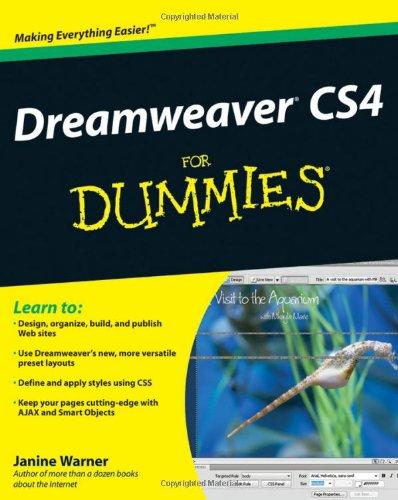 9780470345023: Dreamweaver CS4 For Dummies