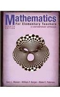 9780470345337: Mathematics for Elementary Teachers: A Contemporary Approach 8th Edition VA Correlation Guide Book Math Set