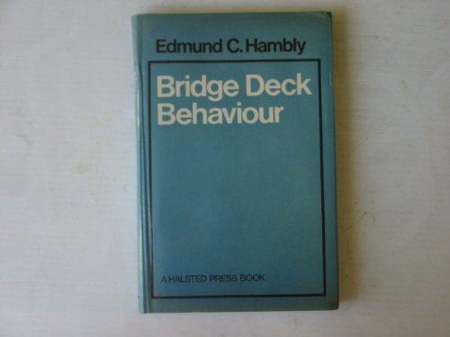 9780470346365: Bridge Deck Behaviour