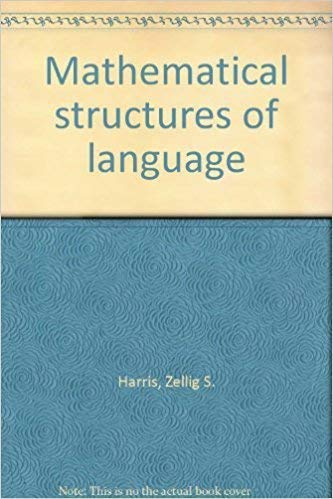9780470353165: Mathematical Structures of Languages (Interscience Tracts in Pure & Applied Mathematics)