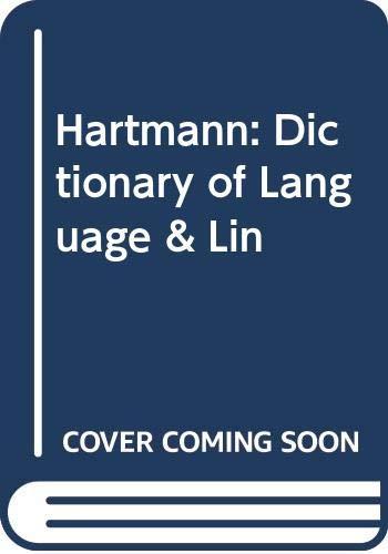 9780470356678: Dictionary of Language & Linguistics