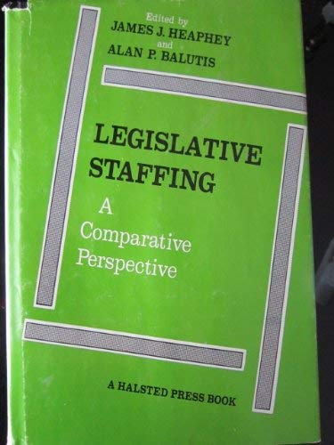 9780470366714: Legislative Staffing: A Comparative Perspective