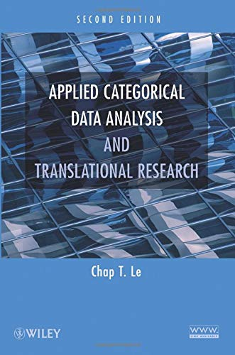 9780470371305: Applied Categorical Data Analysis and Translational Research