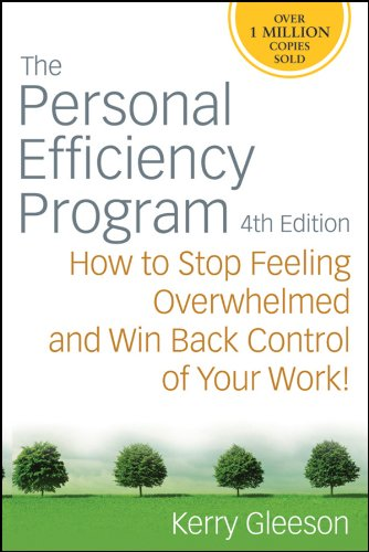 9780470371312: The Personal Efficiency Program: How to Stop Feeling Overwhelmed and Win Back Control of Your Work!
