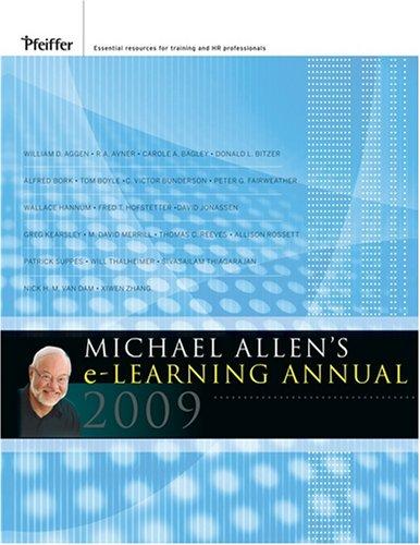 9780470371459: Michael Allen's 2009 e-Learning Annual