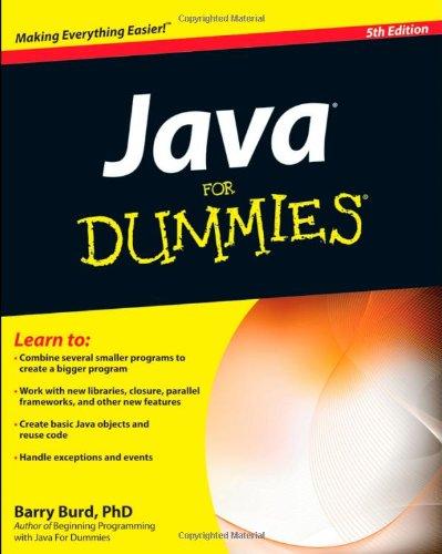 9780470371732: Java for Dummies