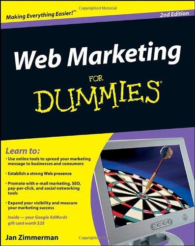 9780470371817: Web Marketing For Dummies