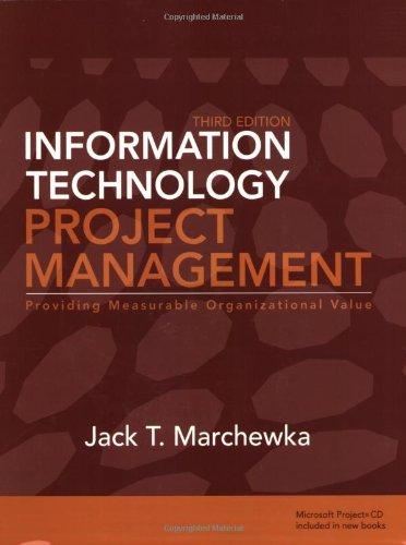 9780470371930: Information Technology Project Management