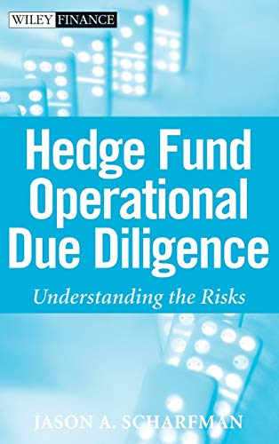 9780470372340: Hedge Fund Operational Due Diligence: Understanding the Risks