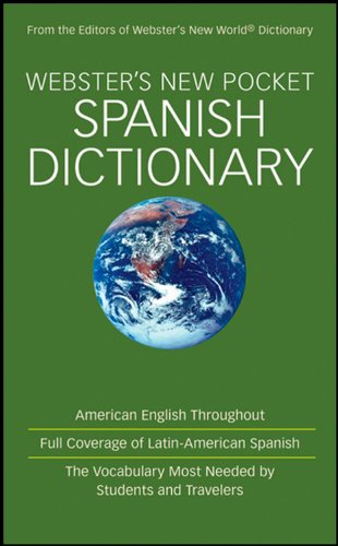 Webster's New Pocket Spanish Dictionary: Unknown
