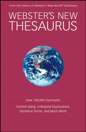 9780470373262: Webster's New Thesaurus, Target Edition