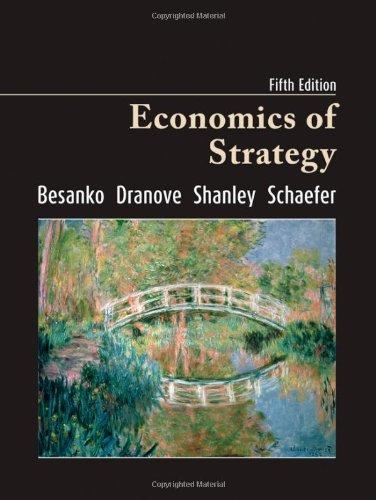 9780470373606: Economics of Strategy