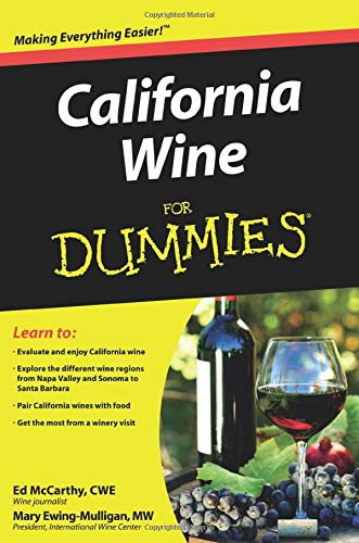 9780470376072: California Wine For Dummies