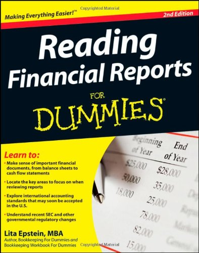 9780470376287: Reading Financial Reports For Dummies