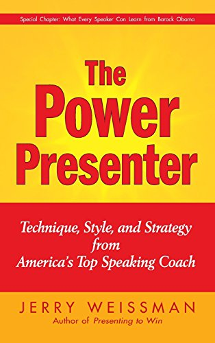 9780470376485: The Power Presenter: Technique, Style, and Strategy from America's Top Speaking Coach