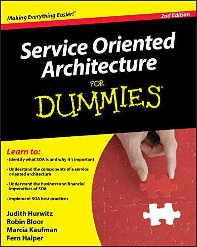 9780470376843: Service Oriented Architecture (SOA) For Dummies, 2nd Edition