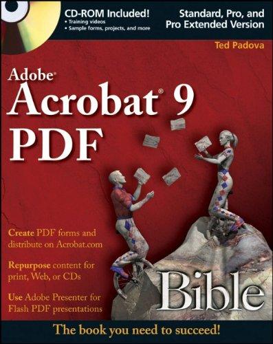 9780470379196: Adobe Acrobat 9 PDF Bible