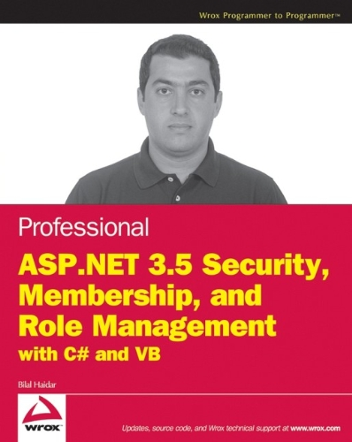 9780470379301: Professional ASP.NET 3.5 Security, Membership, and Role Management with C# and VB