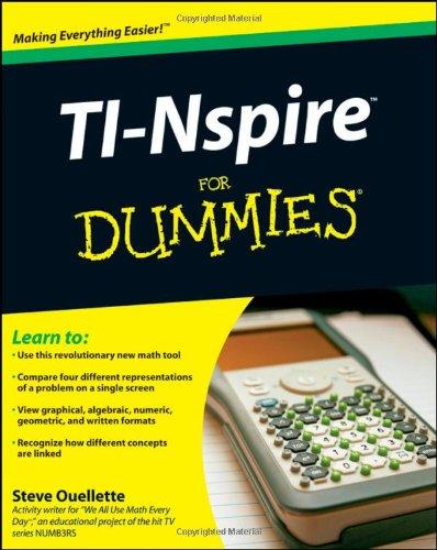 9780470379349: TI-Nspire For Dummies