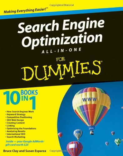 9780470379738: Search Engine Optimization All-in-One For Dummies