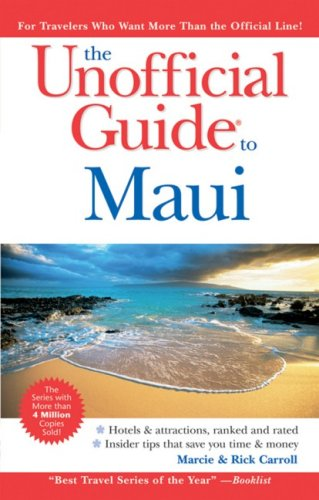 9780470379981: The Unofficial Guide to Maui (Unofficial Guides)