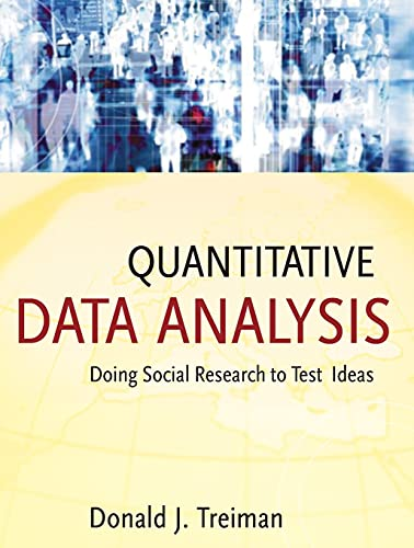 9780470380031: Quantitative Data Analysis: Doing Social Research to Test Ideas