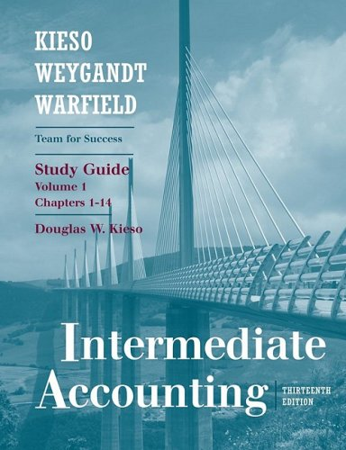 9780470380598 intermediate accounting chapters 1 14 study guide rh abebooks com intermediate financial accounting study guide intermediate accounting study guide for free