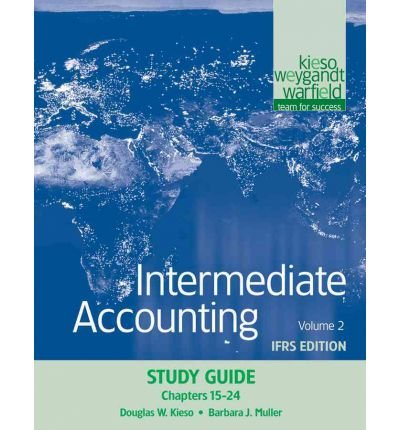 Intermediate Accounting: Test Bank (Volume 2: Chapters 15-24): Donald E. Kieso