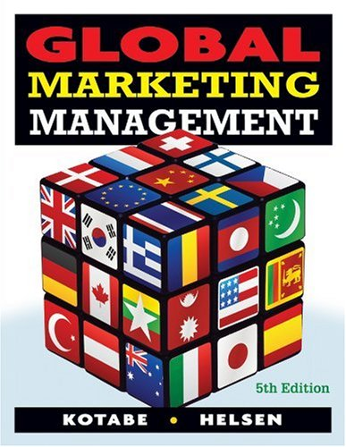 9780470381113: Global Marketing Management