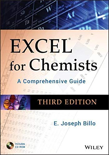 9780470381236: Excel for Chemists: A Comprehensive Guide