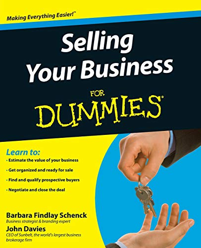 9780470381892: Selling Your Business For Dummies