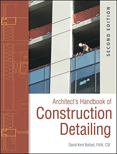 9780470381915: Architect's Handbook of Construction Detailing