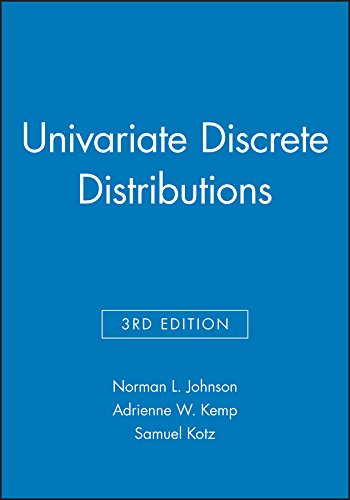 Univariate Discrete Distributions, 3e Set: Johnson, Norman L./