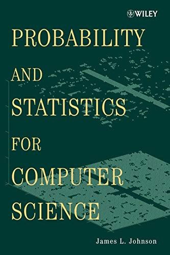 9780470383421: Probability and Statistics for Computer Science