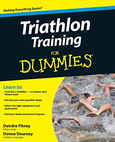 9780470383872: Triathlon Training for Dummies