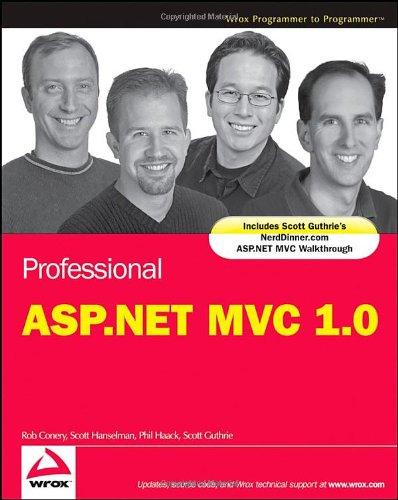 9780470384619: Professional ASP.NET MVC 1.0 (Wrox Programmer to Programmer)
