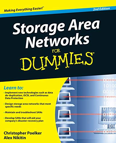 9780470385135: Storage Area Networks For Dummies