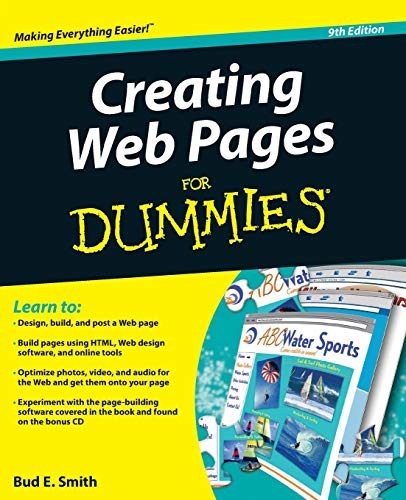 9780470385357: Creating Web Pages For Dummies